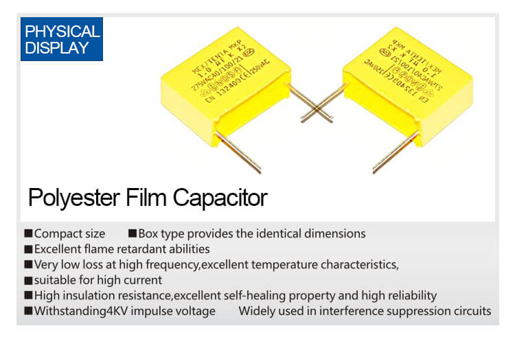 X2 Safety Capacitor 225k 275v