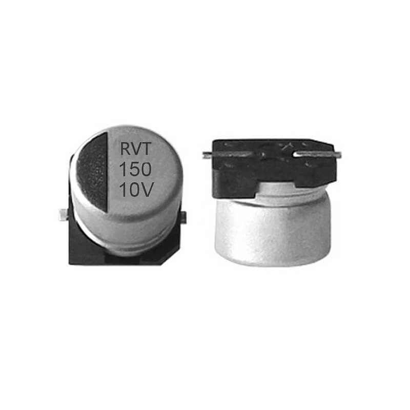 SMD electrolytic capacitor 10V150UF