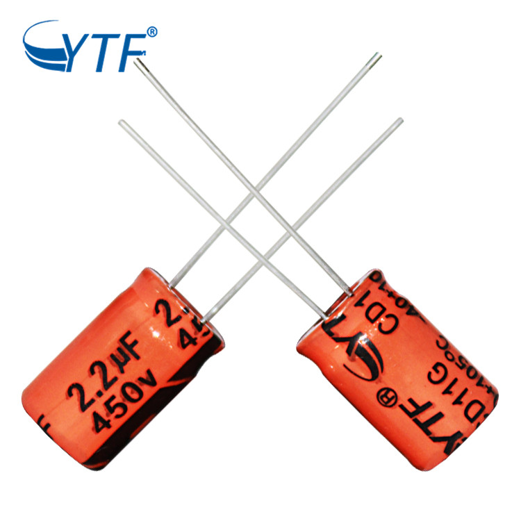 Electrolytic Capacitor 450V 2.2UF