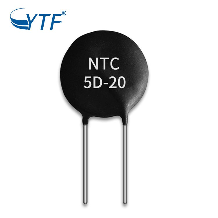 Waterproof  5d-20 5K ohm power type ntc  thermistor