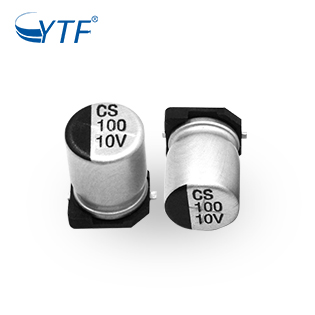 5*5.4 CS Series Of SMD Electrolytic Capacitor 10V 100UF For Power Factor Saver