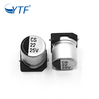 CS Series Of SMD Electronic Capacitors 25V 22UF In Microwave Oven