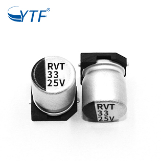 Load Bank Smd Aluminum Electrolytic Capacitors 33UF 25V 6.3*5.4