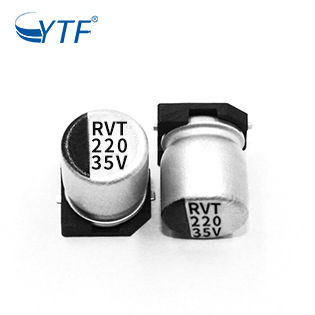 Cheap SMD Chip Film Capacitors 8*10.2 35V 220UF Accept Customized Designs