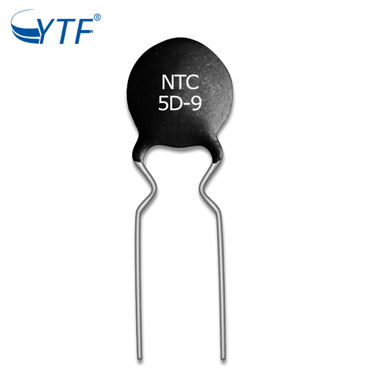 Free Sample Power Black NTC Thermistor MF72 50D-9 In Resistor