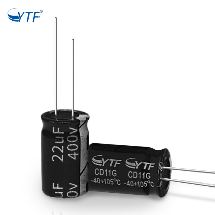 400V 22UF ISO Factory Offer Laptop Led Projector Part Electrolytic Capacitor