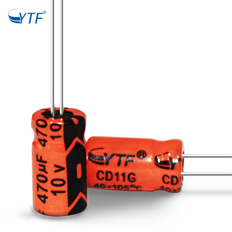 What Is Symbol In Series 470uf 10v Electrolytic Capacitor