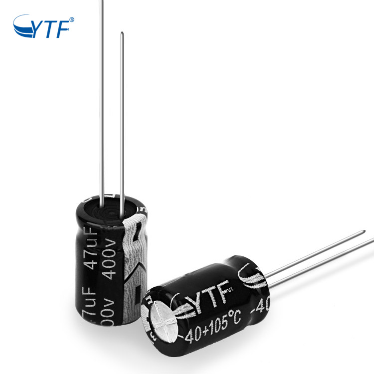 Free Sample 400V 47UF Stock Aluminum Electrolytic Capacitor