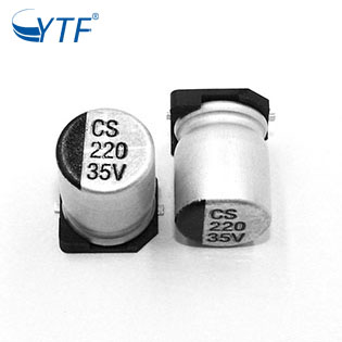 220uf 35V Capacitor Smd 8*10.5 Cheap Chip Caps Accept Customized Designs