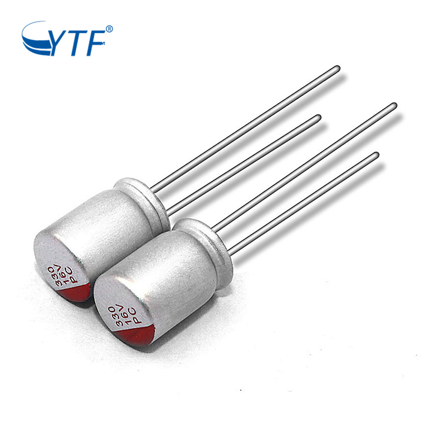 Solid E-cap 16V 330UF Sample Original Cheaper Price High Voltage Middle Solid Electrolytic Capacitor