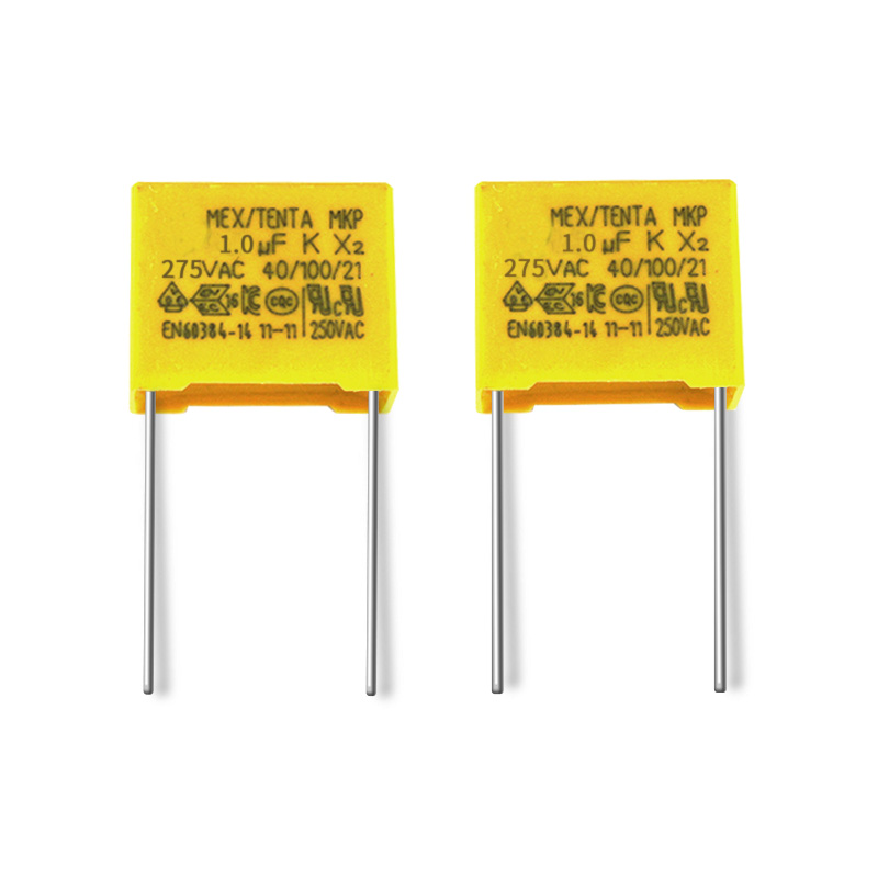 Mkp 275vac 105k New Promotion Mkp62 Square X2 Capacitor 1uf 275v