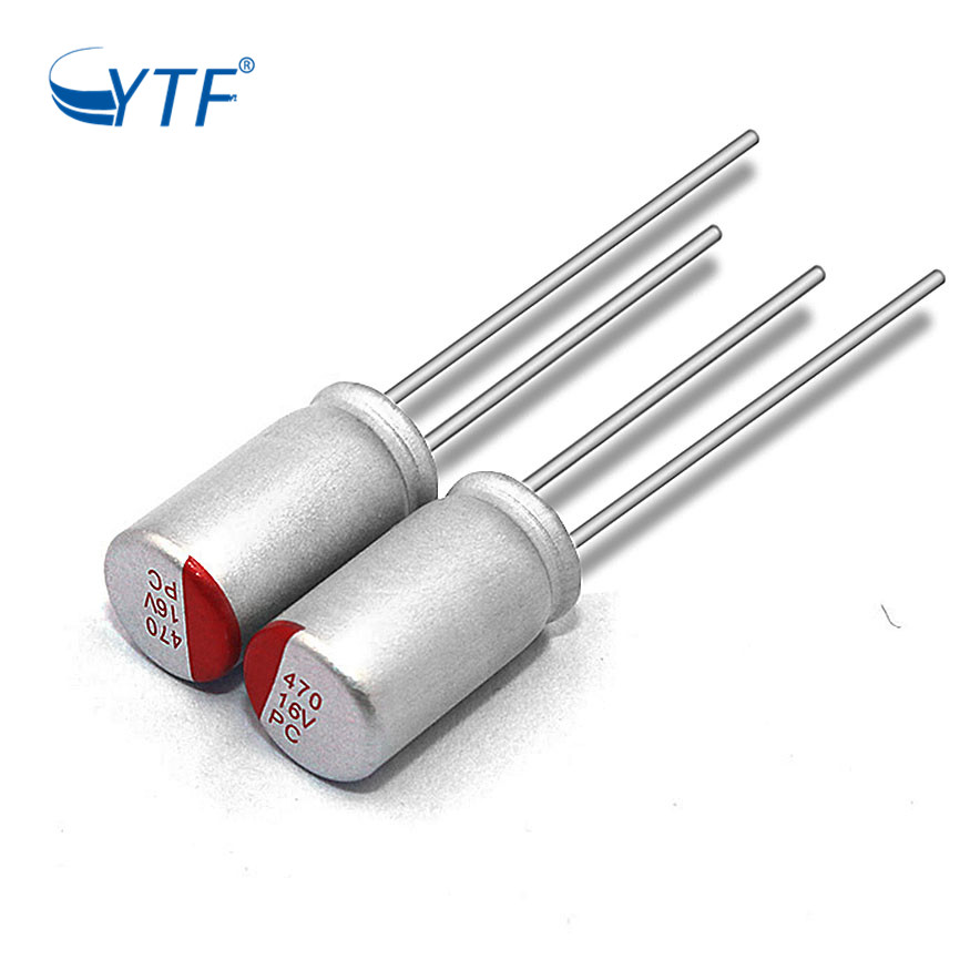 Through Hole Solid Polymer Electrolytic Capacitor 16v470uf