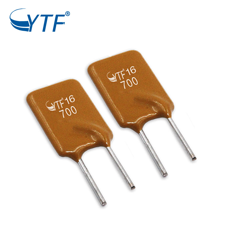16V 9A Thermal Straight flat self-recovery fuse PPTC