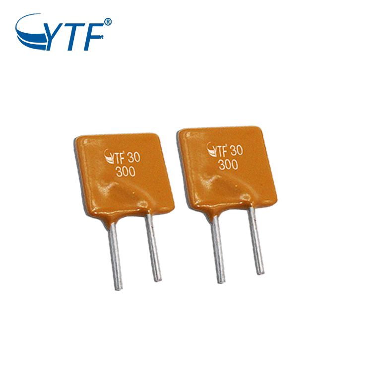 16V 900mA Recoverable Pptc Dip Type Fuse For Electric Home Appliance