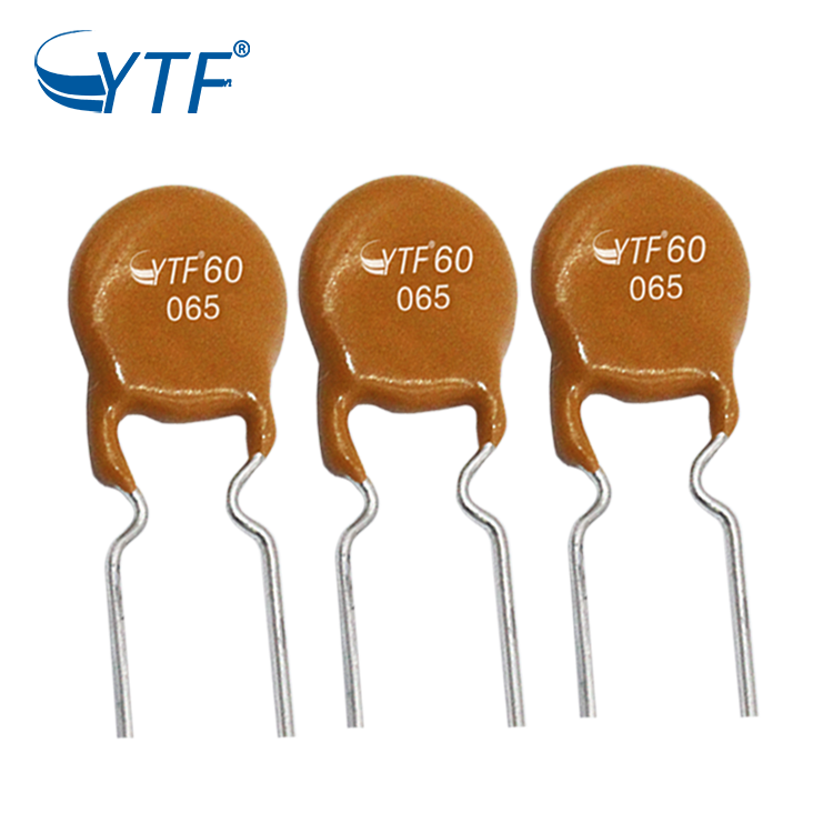 PTC self-recovery fuse 60V 1.6A