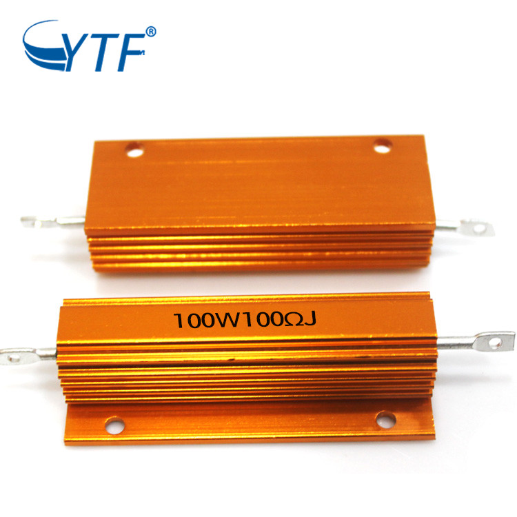 aluminum power wirewound resistor for braking