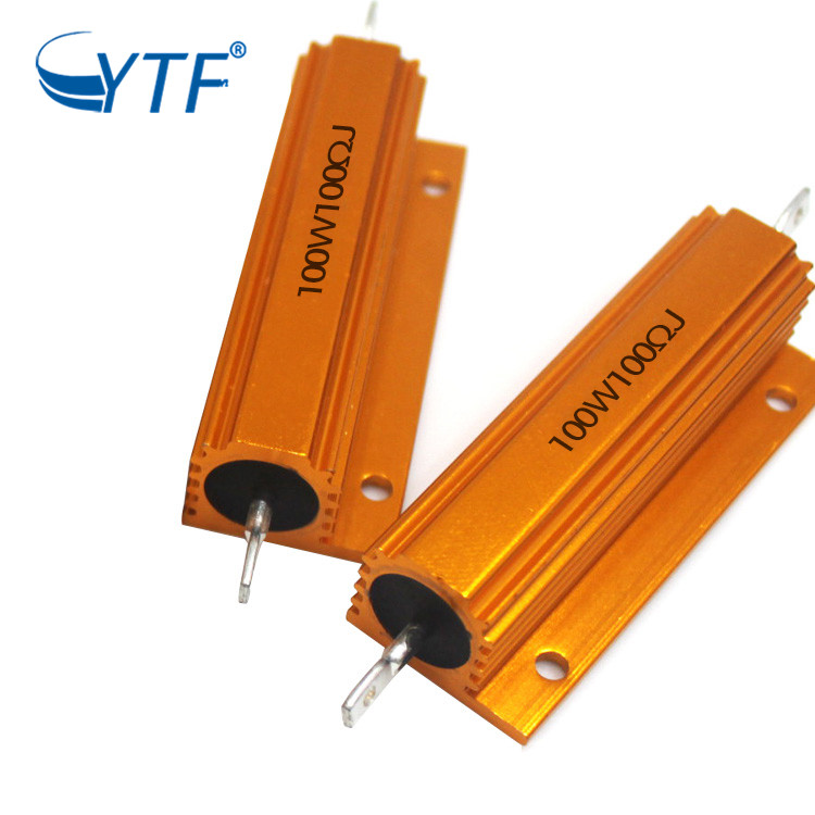 aluminum housing power resistor