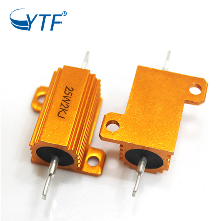 RX24 High Power Fixed Wirewound Resistor 25W 2K