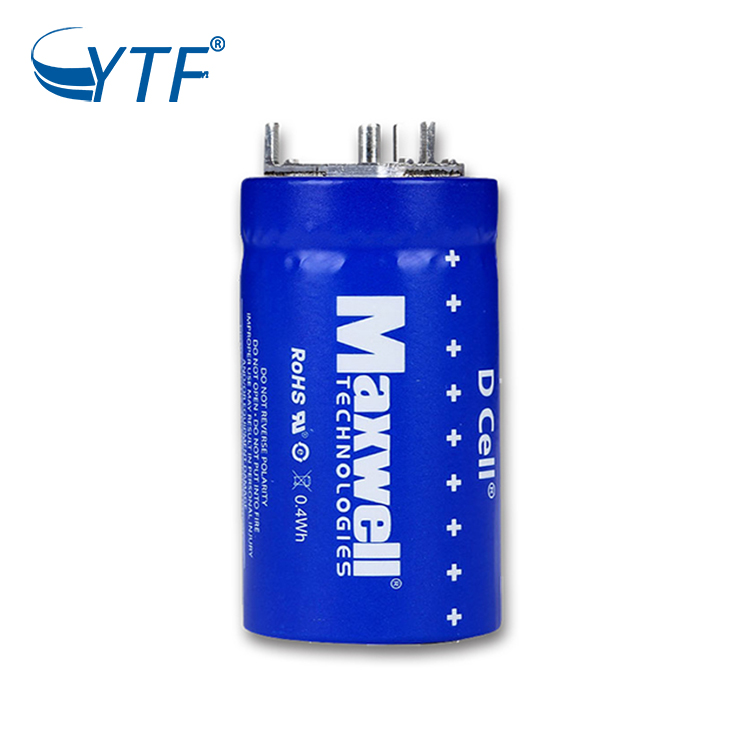 2.7V 350F MAXWELL Farad Super Capacitor 2.7V 350F Hybrid Car Battery Car Audio Supercapacitor