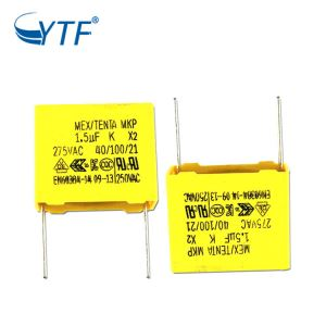 1.5UF 275VAC mkp x2 capacitor with great price
