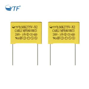 Good Quality Manufacturer 564k X2 Capacitor 0.56uf 275v