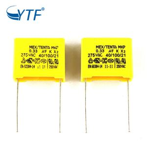 Free Sample 275v K Film 334k Mkp Capacitor 0.33uf X2