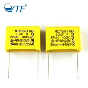 Good Price Film 105k Air Conditioning Pipe Square Mkp X2 1uf 275v Capacitor