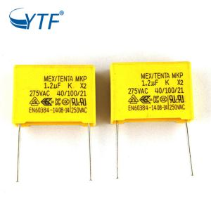 Low Price Power Great Mkp X2 Capacitor 1.2uf 275v
