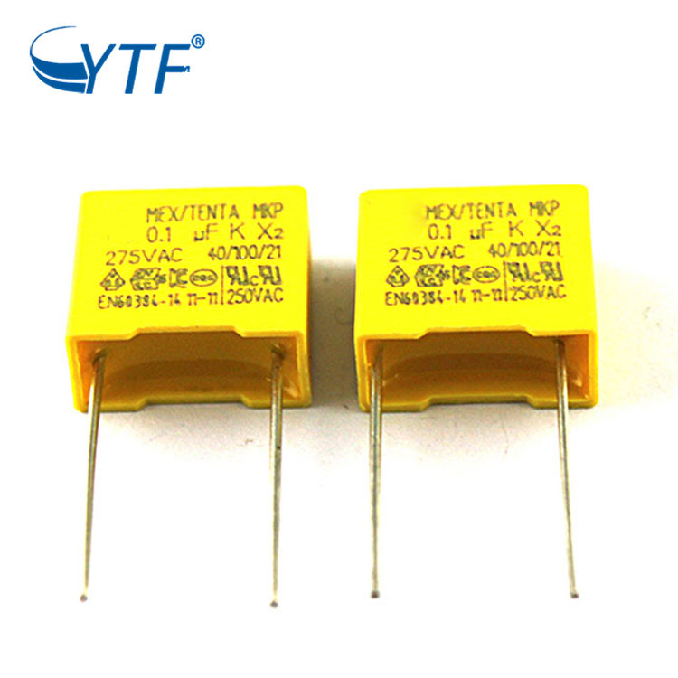 Shenzhen Medical Equipment Mkp 0.1uf P15mm Capacitor X2 104k 275v