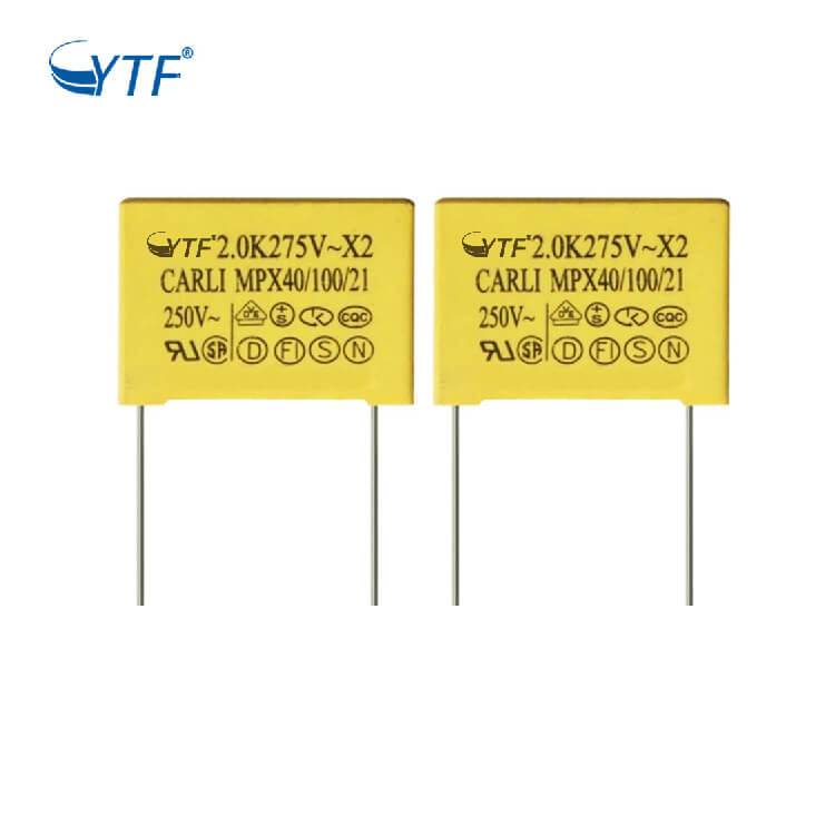China Cheap Hospital Manufacture Supercapacitor 205 2uf 275v Mkp X2 Capacitor