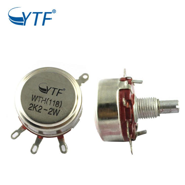 The Repair method of potentiometer failure