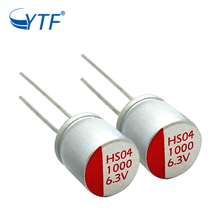 Long life solid electrolytic capacitors 6.3v1000uf 10*12