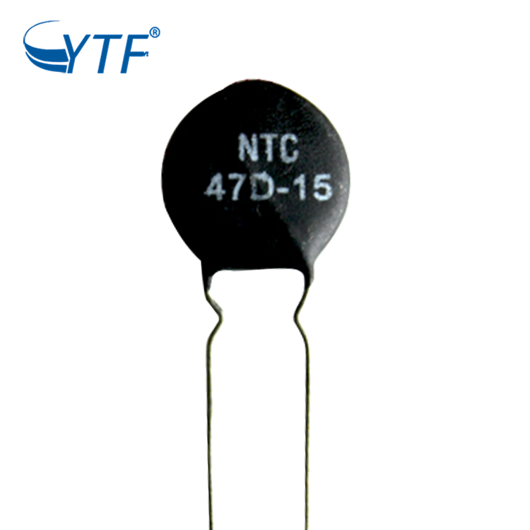 Professional ntc thermistor 47d-15 mf72 ntc thermistor black For Sales