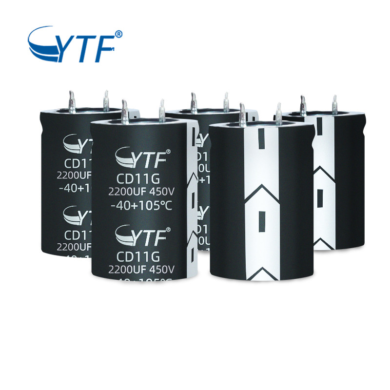 High quality 450V 2200MFD Screw Terminal Capacitor 450V 2200UF snap in capacitor