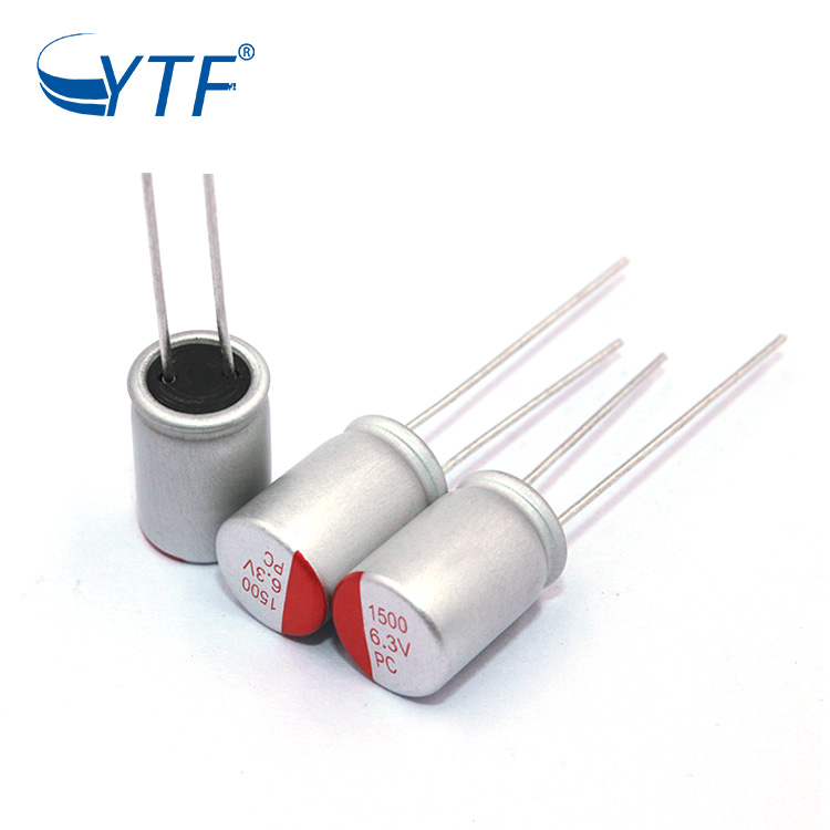 New And Original capacitor 1500uF 6.3v Solid State Electrolytic Capacitor