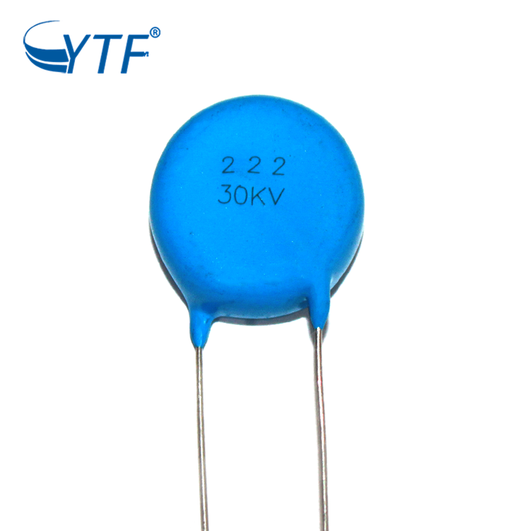 high frequency high voltage ceramic capacitor 30kv 222k in ready stock
