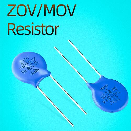 The cause of damage to the MOV/ZOV varistor