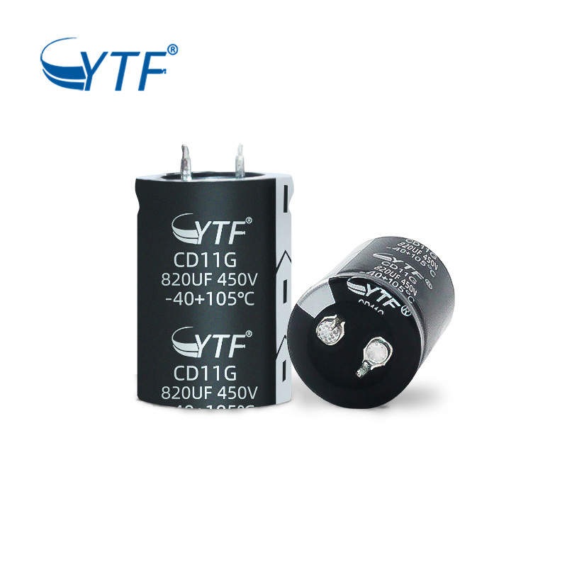 YTF Capacitor Long Life High Power Snap-in Capacitor 820uf 450v