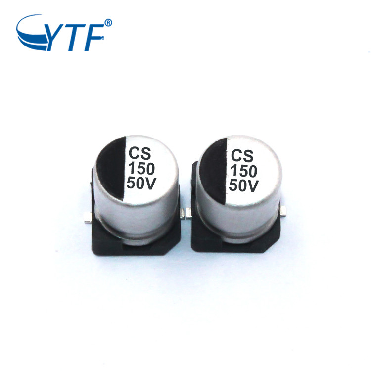 chip capacitor for general purpose 150UF 50V SMD aluminium capacitor with good quality