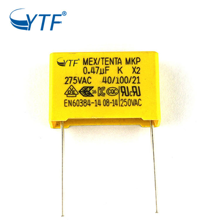 Hot Selling Machine Grade Mkp Metal Square X2 Capacitors 0.47uf 275v