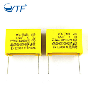 The Best Quality Long Life Time 275V 155K 1.5UF MPX X2 Safety Capacitor