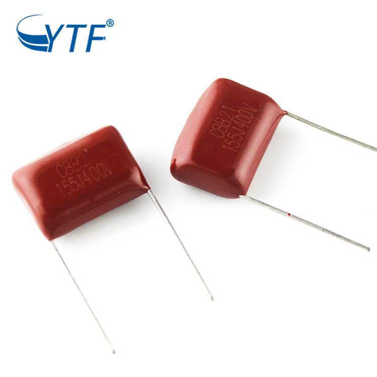 Reliable Hot Selling Best Quality CBB Polyester Film Capacitor 400V155J 1.5uf