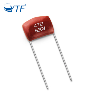 Overseas box film capacitor For Communication Equipments 0.0047UF 630V 472 10MM CBB22 pp film capacitor