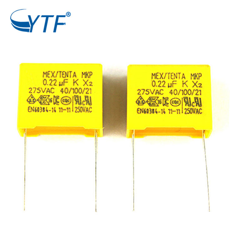Good Sealed Battery 275vac Interference Suppression Mkp X2 Capacitor 0.22uf