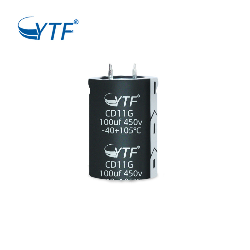 General Purpose Snap-in 100uf 450v Electrolytic Capacitor Datasheet