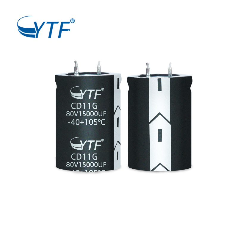 High Frequency Aluminium Capacitor Snap-in 80V15000UF Electrolytic Capacitors For LED Power Supply